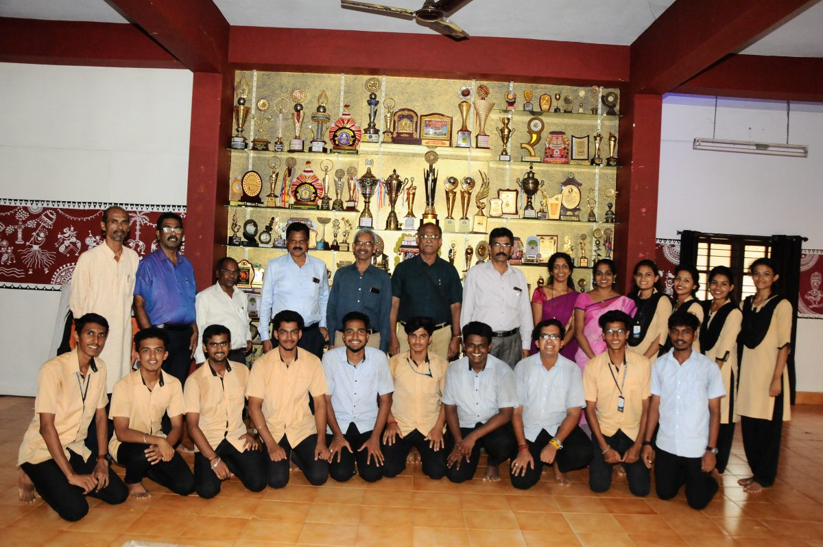 Interaction with Hampi Vice-Chancellor-2019