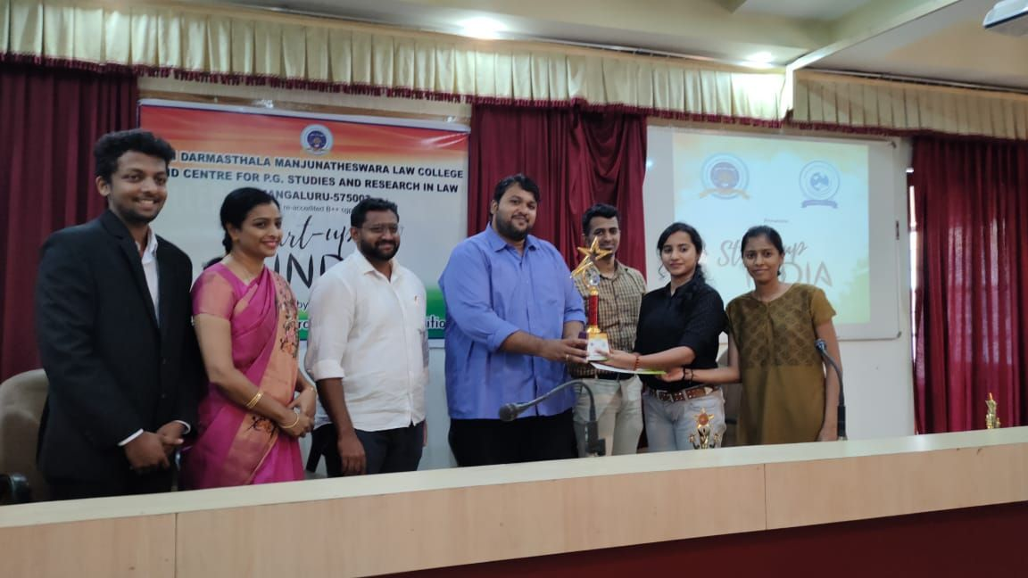 Students Secured First Prize at SDM Law College-2020-21