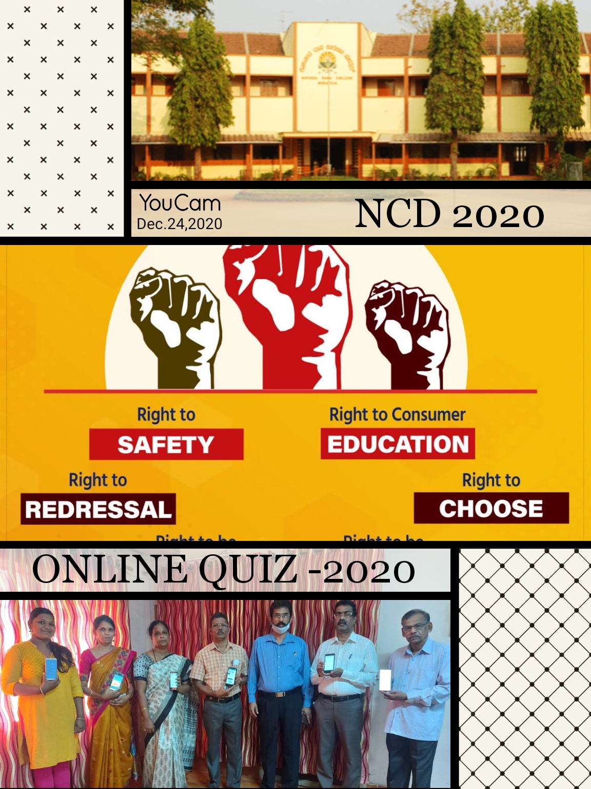 An E-Quiz on Consumer and Human Rights 2020-21