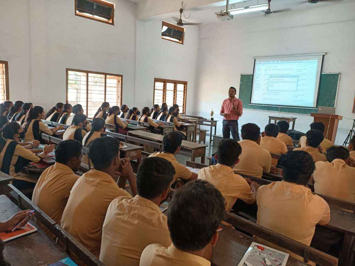 Orientation on Banking Coaching for Final B.Com Students-2021