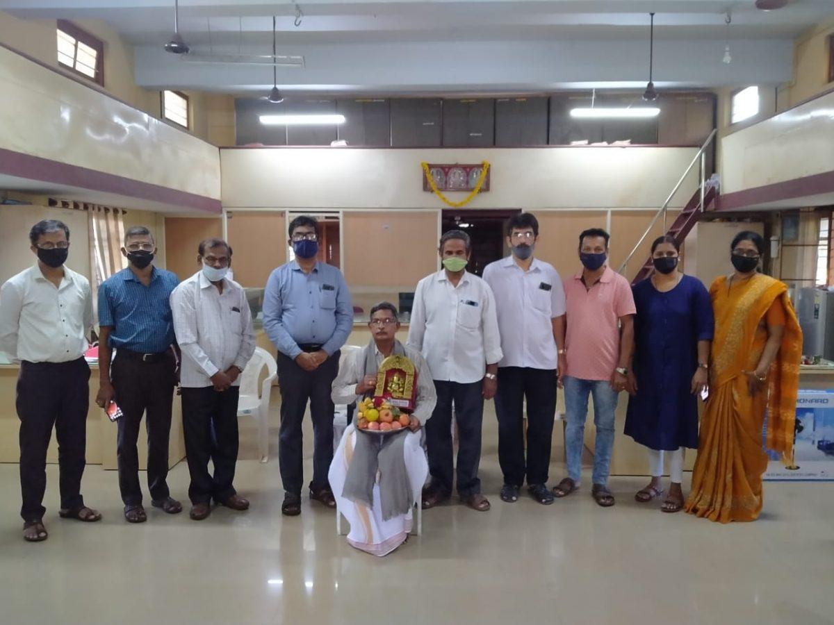 Bidding Adieu to Sri Surendra on His Superannuation