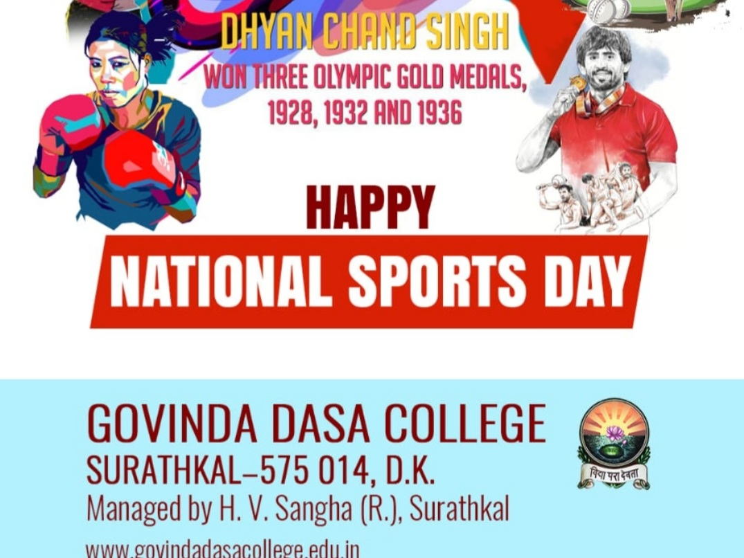 Happy National Sports Day
