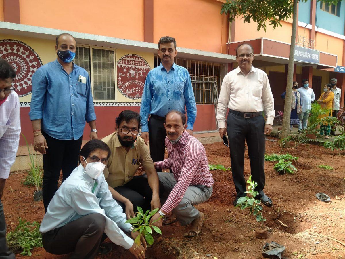Van Mahotsav Celebration with Planting of Herbal Saplings-2021